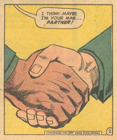 """""""Black + White = Heartbreak!""""  Girls' Love Stories  #163 (November 1971)"""