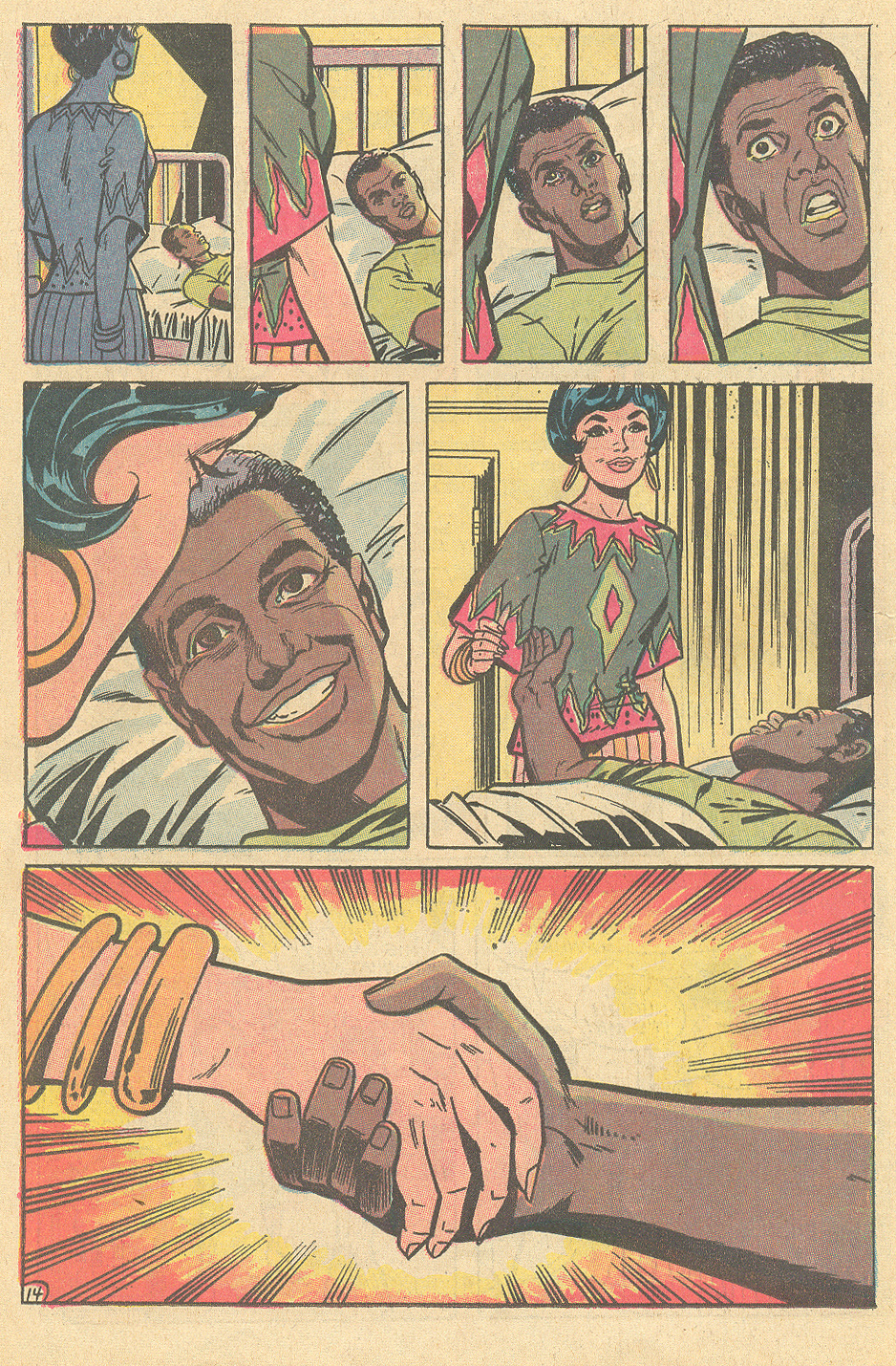"""I Am Curious (Black)!"" Superman's Girl Friend Lois Lane #106 (November 1970). Written by Bob Kanigher, illustrated by Werner Roth and Vince Colletta"