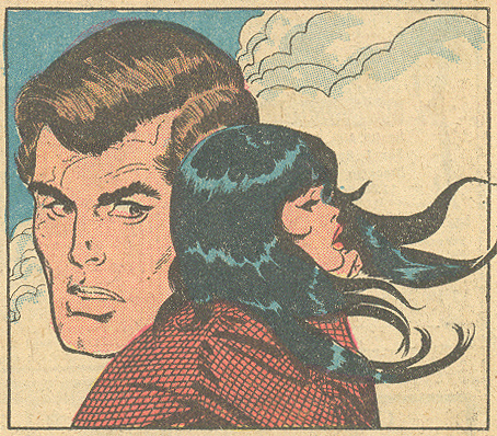 Floating heads in comic books
