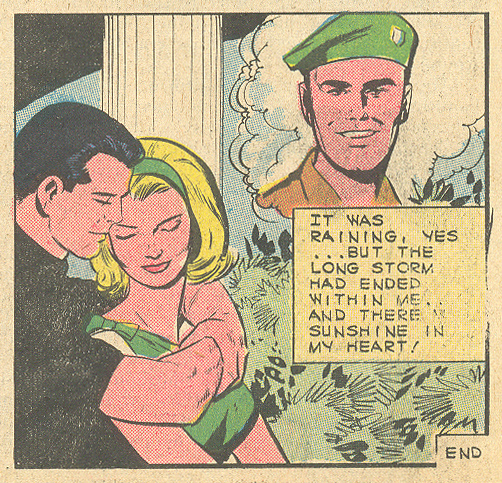 """Drops of Heartbreak""  Romantic Story  #83 (July 1966)"