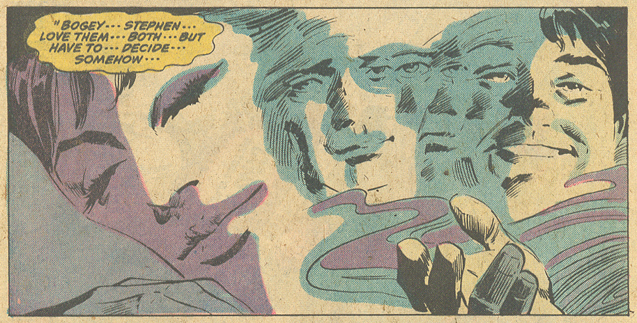"""As Time Goes By!""  My Love  #30 (September 1974) Pencils: Gene Colan, Inks: Dick Giordano"