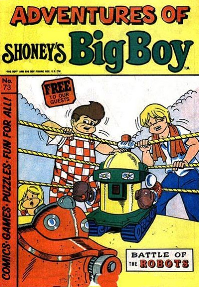 Adventures of Big Boy  #73 Scan from the   Grand Comics Database