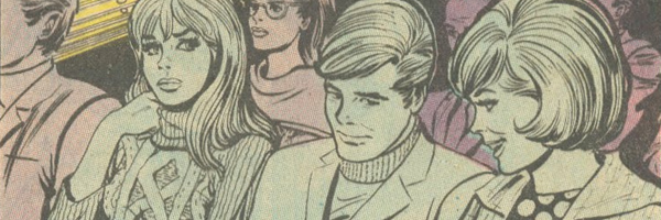 """Romance Comic Villains Extraordinaire - Mothers!  Young Romance 's """"My Mother... My Rival!"""""""