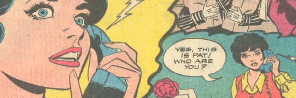 Call Me Maybe - Telephones in Romance Comics!