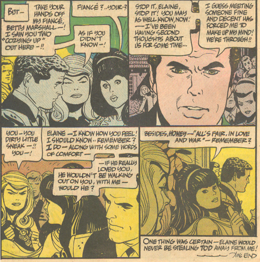 Alex Toth romance comic book DC Comics