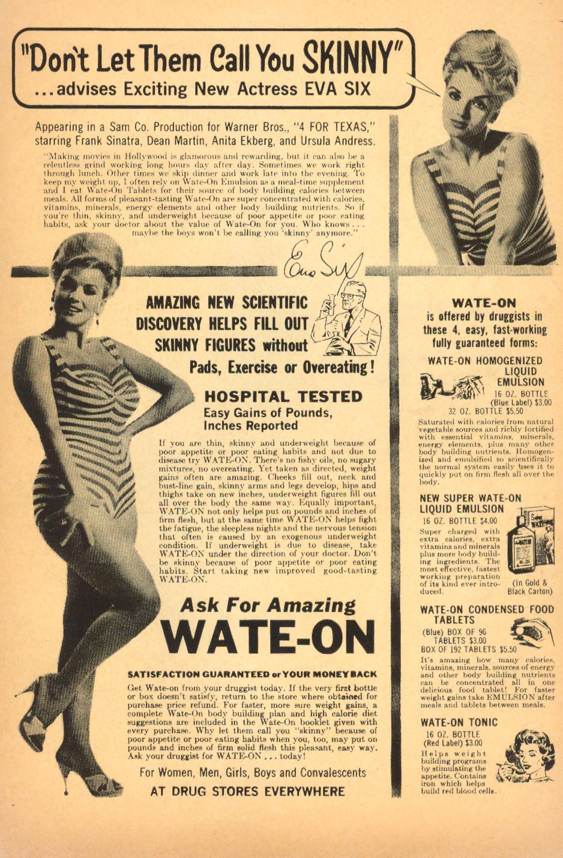 Vintage diet aid advertisement wate-on tonic