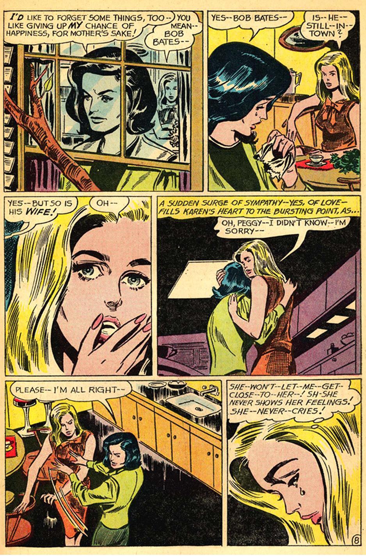 Secret Hearts #111 (April 1966) illustrated by Gene Colan
