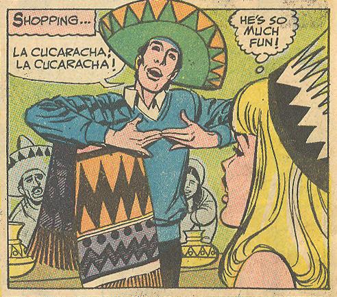 """He'll Break Your Heart!""  Young Romance  #155 Ric Estrada Pencils (August/September 1968)"