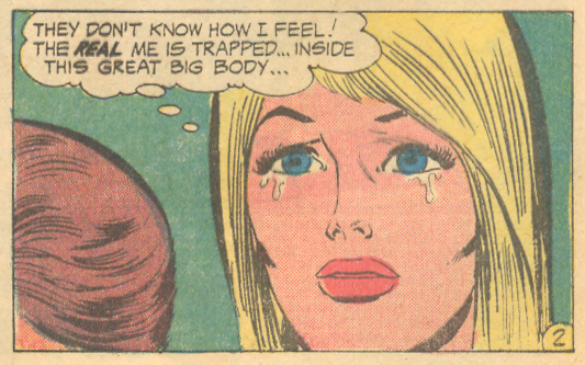"""Too Tall to Love"" from   Falling in Love   # 130 (March 1972)"