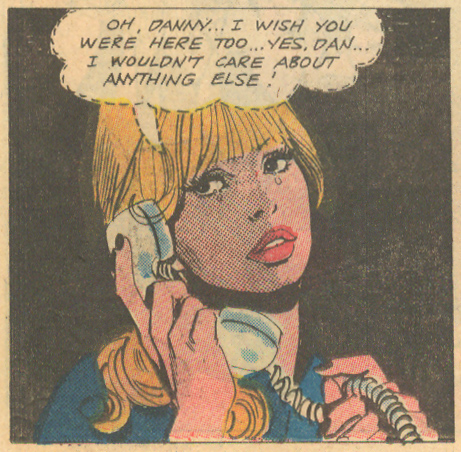 """Discovery""  Hollywood Romances  #52 (April 1970)"