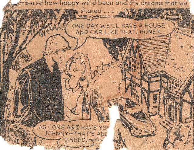 British romance comic books Sequential Crush