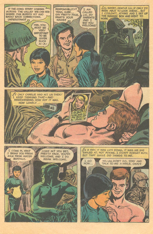 Vietnam war story romance comic book DC Comics