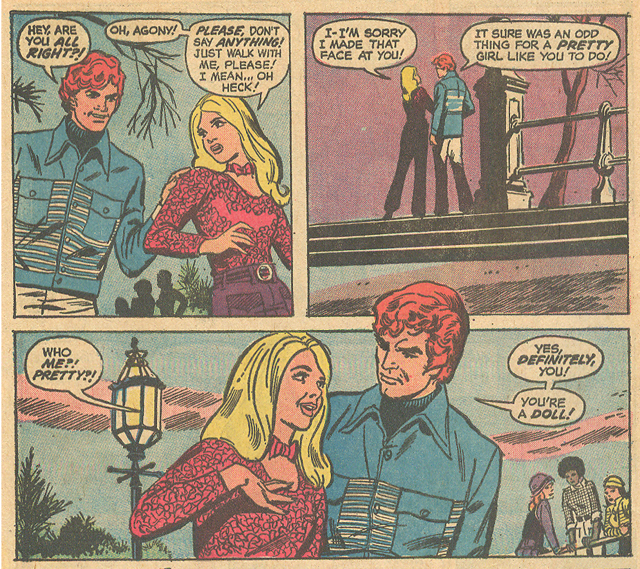 Personality Plus romance comic books Sequential Crush 1970s