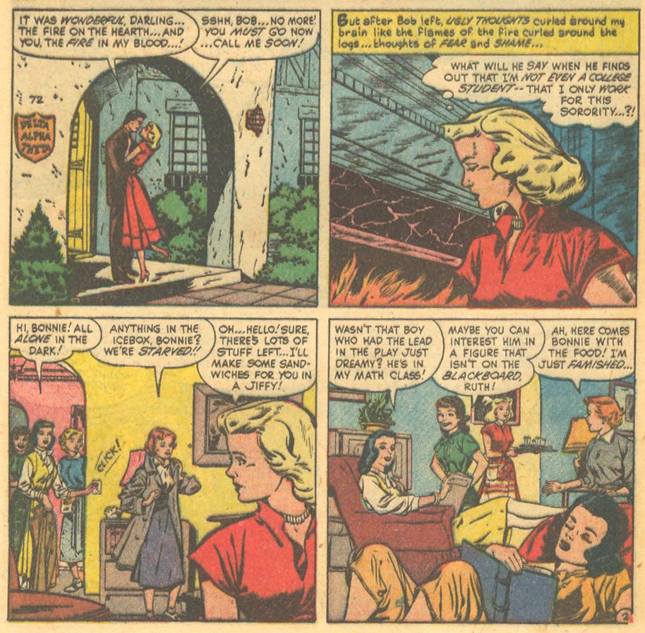 vintage romance comic books sequential crush
