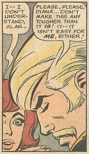 "Some mustached men left heartache in their wake! ""When Love Dies""  Secret Hearts  #142 (March 1970)"