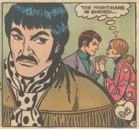 """Bad News!""  Falling in Love  #143 (October/November 1973)"