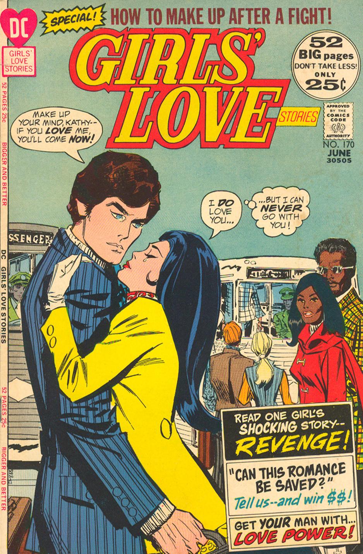 Girls' Love Stories  #170 (June 1972)