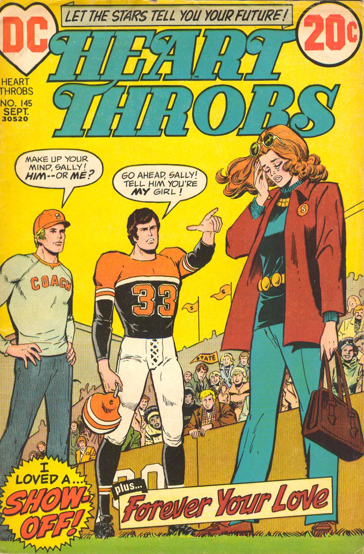 Heart Throbs  #145 (September 1972)