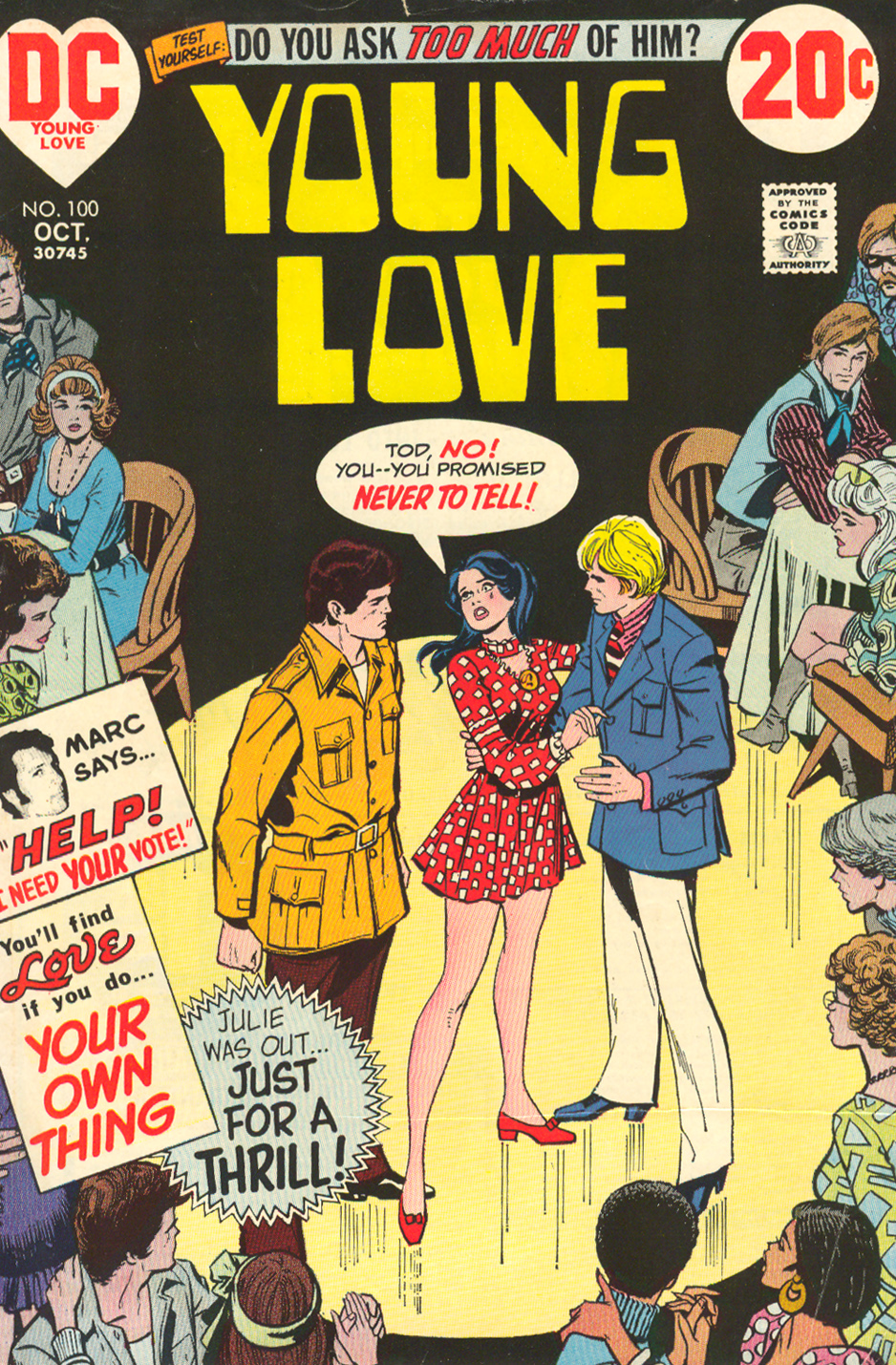 Young Love  #100 (October 1972)