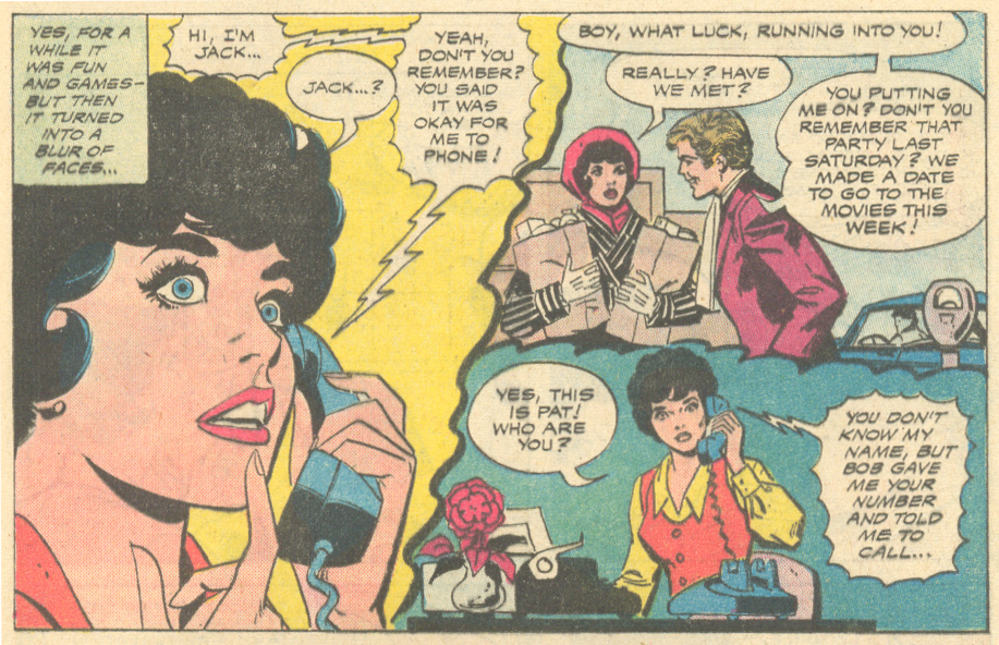 """""""When I Really Fall in Love!""""  Falling in Love  #138 (November/December 1972) Inks: Vince Colletta"""