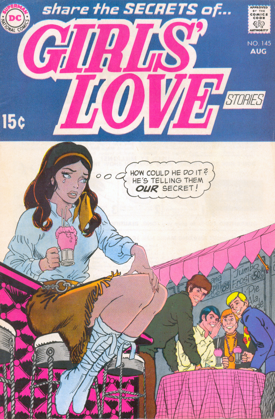 Girls' Love Stories  #145 (August 1969) Pencils and Inks: Nick Cardy