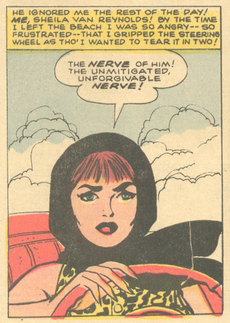 """""""He Was Perfect -- But I Lost Him!"""" Originally from  My Own Romance  #74 (March 1960), reprinted in  Our Love Story  #12 (August 1971)"""
