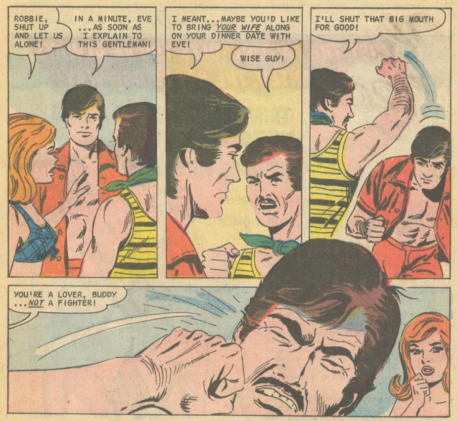 """Always Near""  Time for Love  #33 (April 1973) Pencils: Charles Nicholas, Inks: Vincent Alascia"