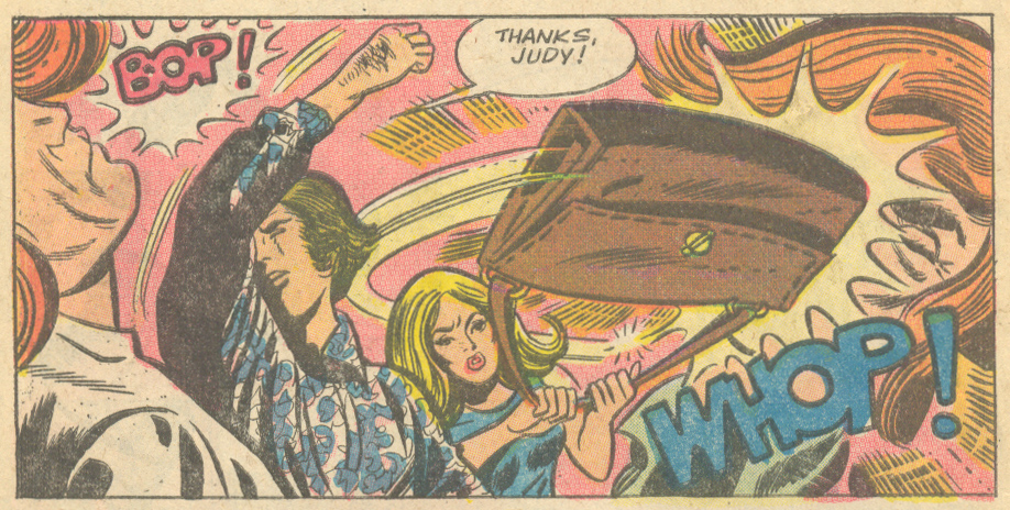 """""""My Lonely Heart""""  Time for Love  #40 (February 1975) Pencils and Inks: Art Cappello"""