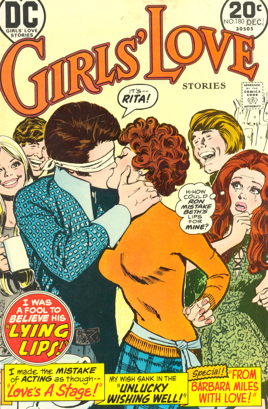Girls' Love Stories  #180 (November/December 1973) Pencils and inks: Jay Scott Pike