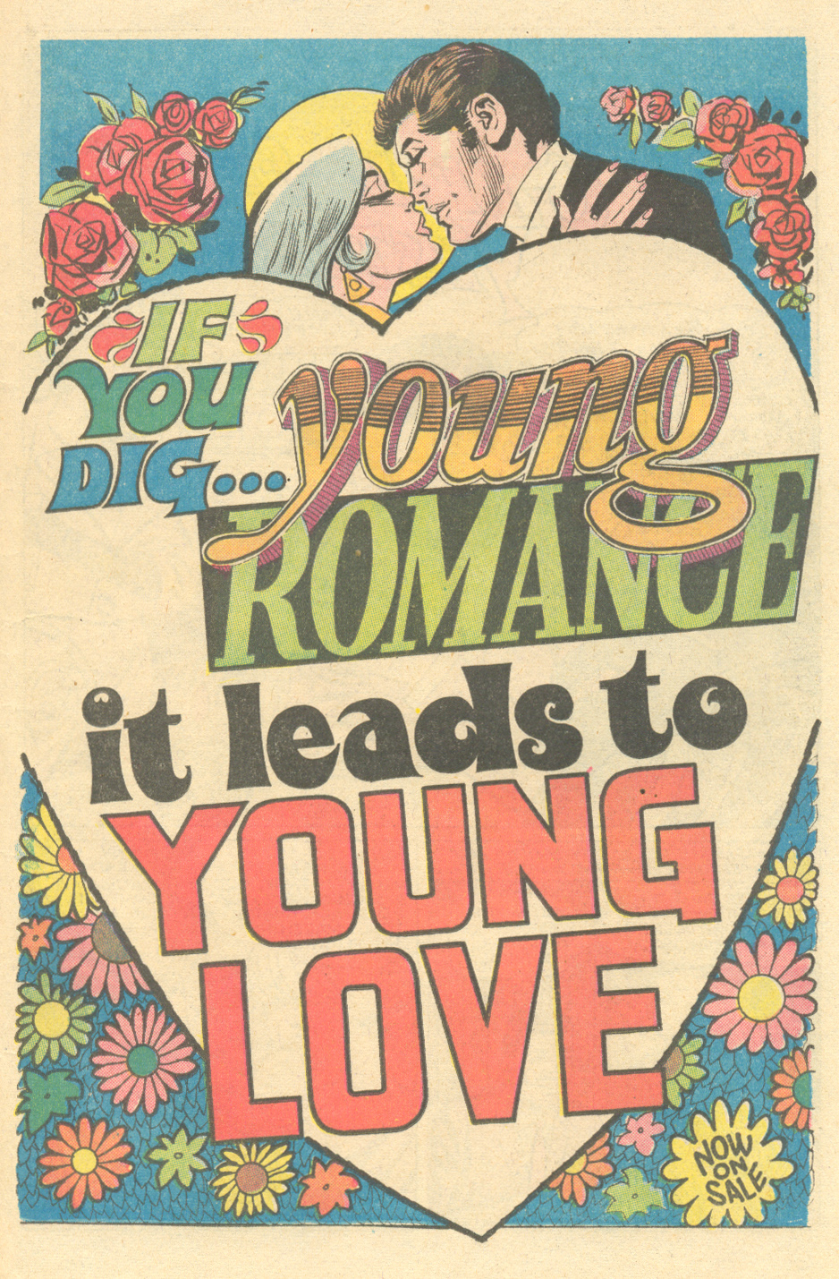 House Ad from  Young Romance  #158 (February/March 1969)
