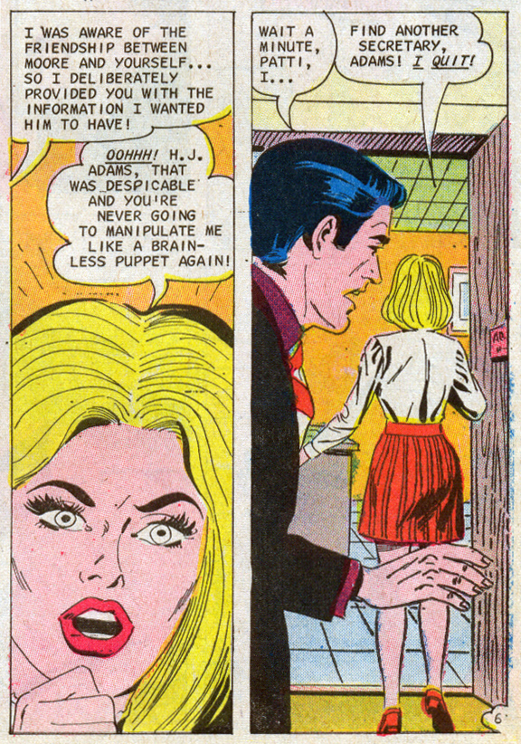 Romantic Story #115 (October 1971) penciled by Charles Nicholas and inked by Vincent Alascia