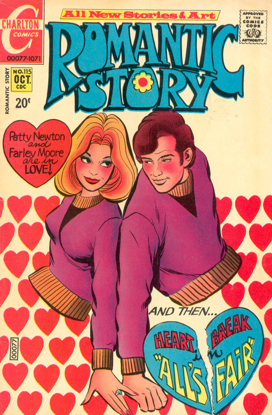 Romantic Story  #115 (October 1971)
