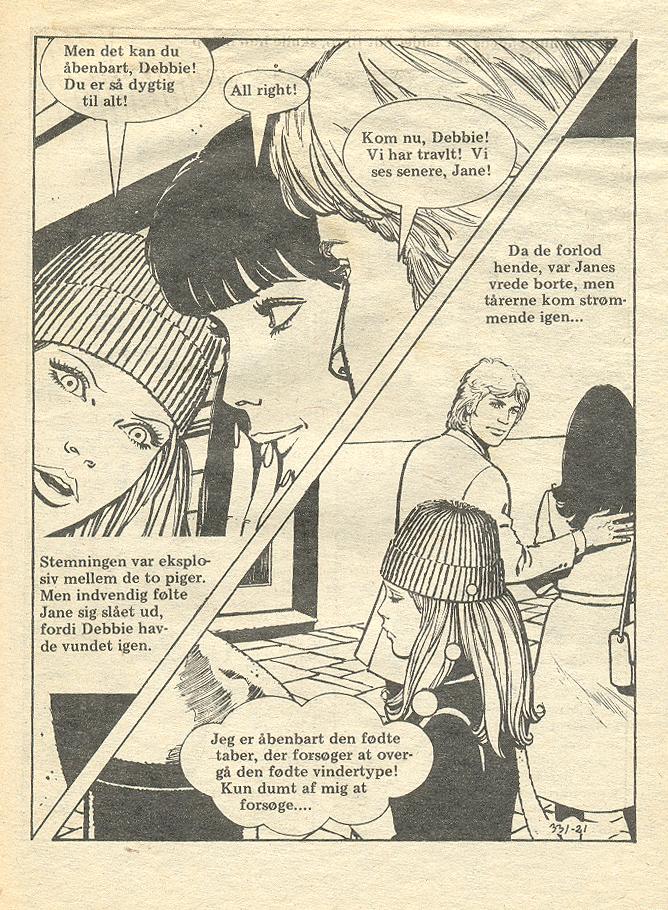 """""""Altid   det     Bedste  """" (""""Always the Best"""") from  Amor  #331 (1977)"""