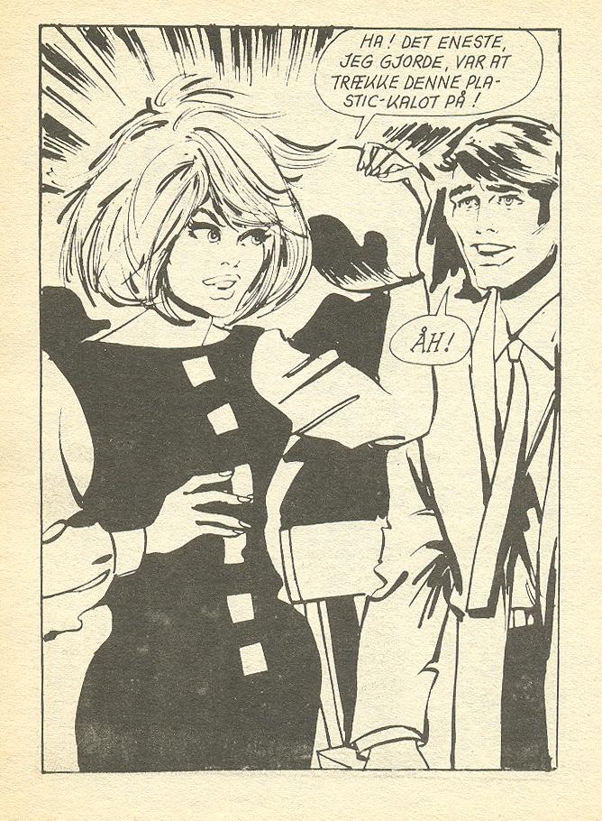 """En Uskyldig Spøg"" (""An Innocent Joke"") from  Jackie  #28 (1972)"