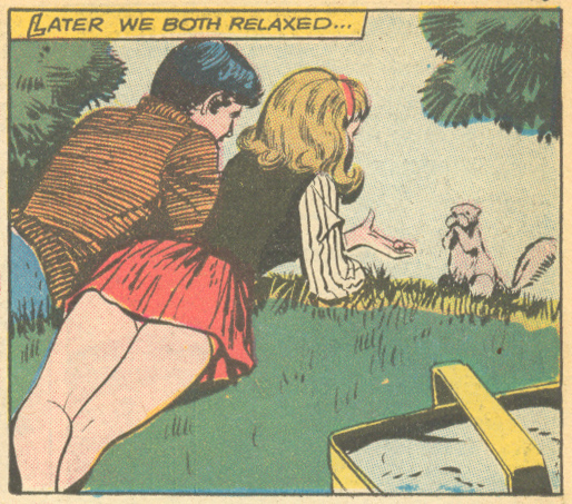 """Heartbreak""  Young Romance  #161 (August/September 1969)"