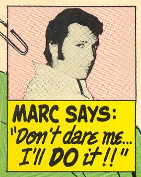 Marc on the Man's Side Romance Comics