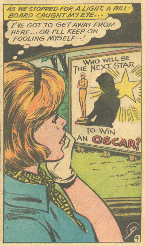 Big dreams for romance character, Debbie Williams!
