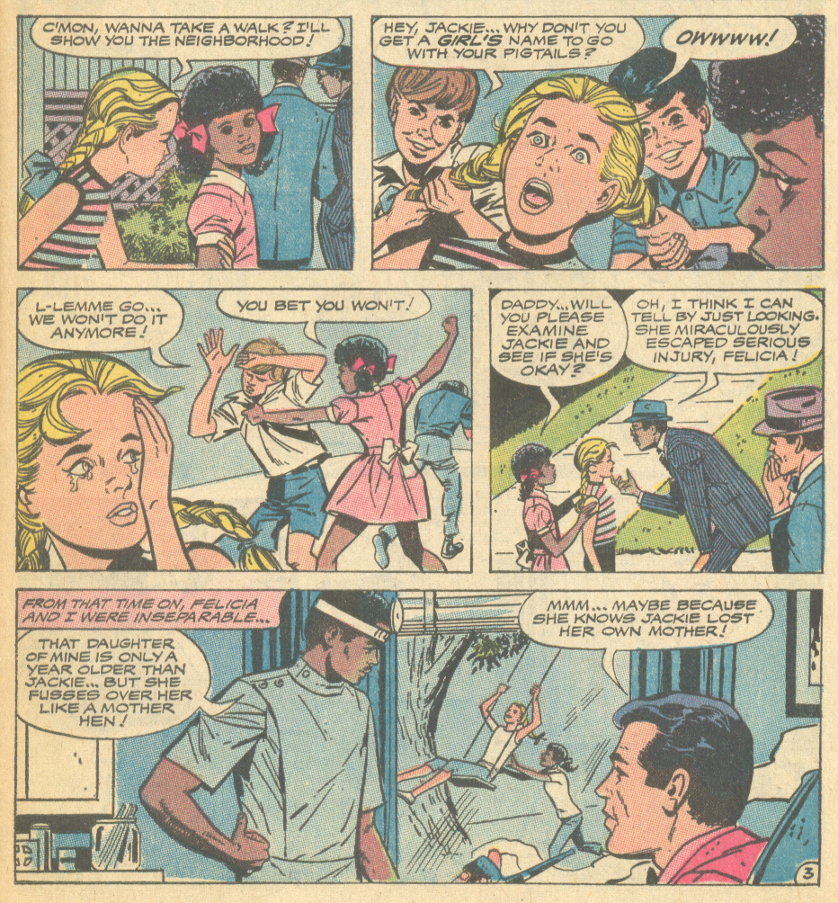 Ahem! Excuse   me   boys! Jackie  is  a girl's name (no matter how you spell it)!