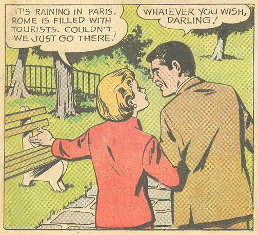 """Too Beautiful to Spoil""  Falling in Love  #63 (November 1963)"