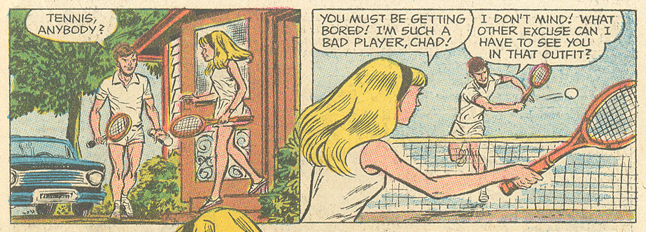 """The Most Bitter Lesson of Her Life!""  Falling in Love  #113 (February 1970s) Pencils: Lee Elias"