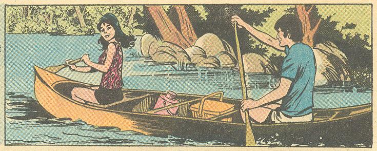 """""""Tame a Wild Heart""""  Girls' Romances  #151 (September 1970) Pencils: John Rosenberger"""