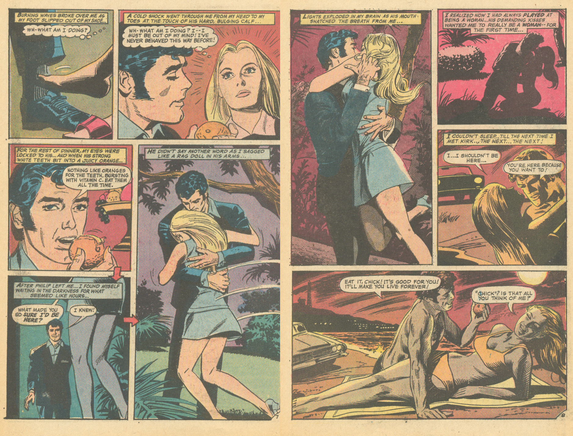 Romance comic books romance novels sexual