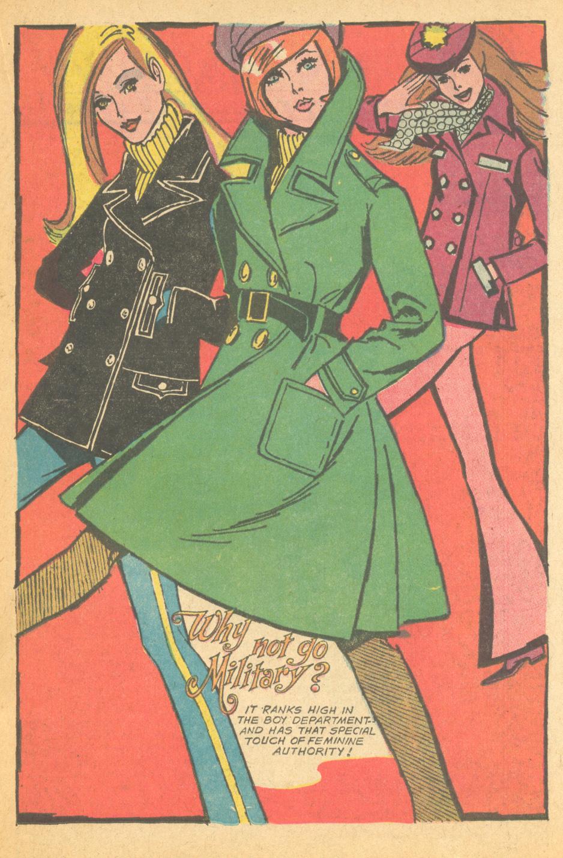 Vintage romance comic book fashion
