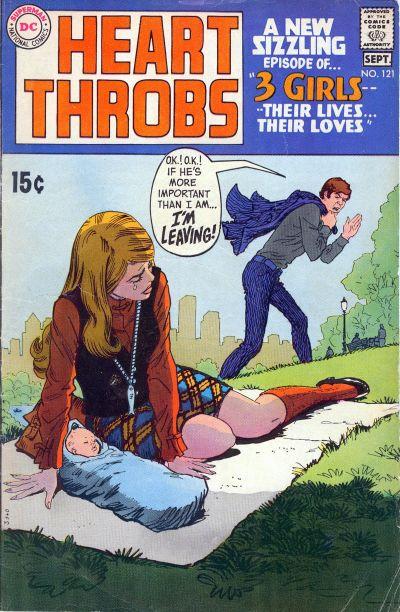 Heart Throbs  #121 (August/September 1969)