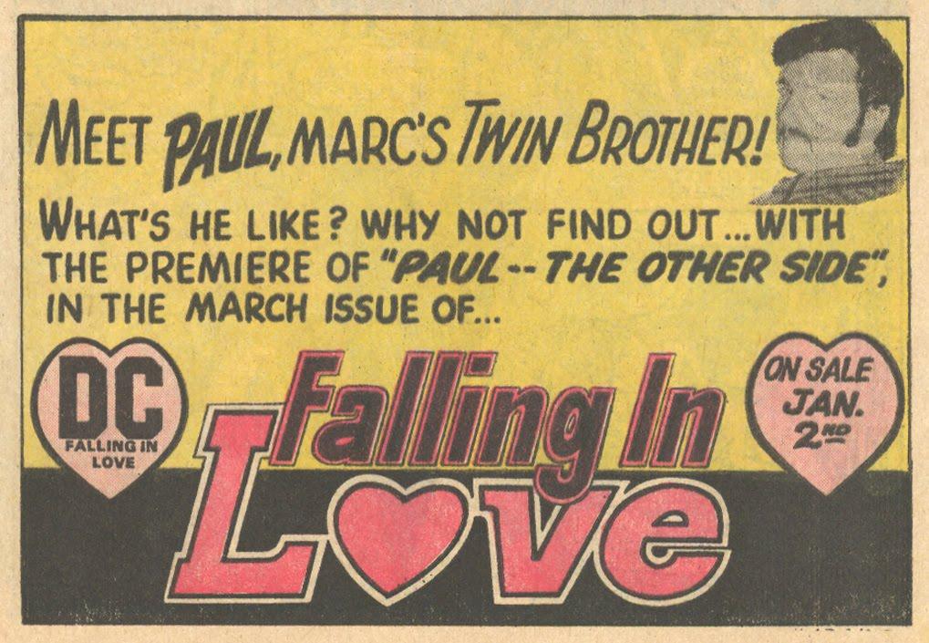 Falling in Love  #139 (January/February 1973)