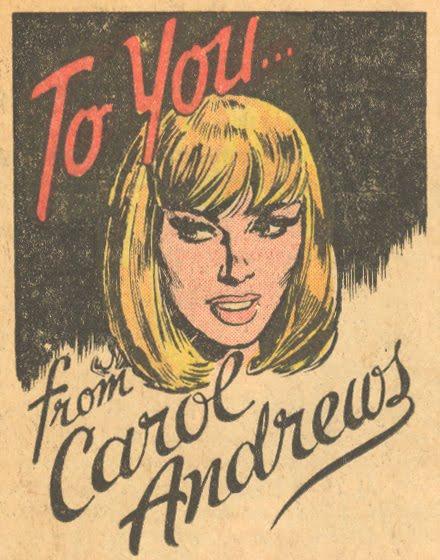 Carol andrews advice columnist comics