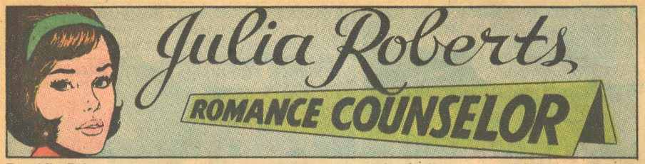 Like Carol, Julia's looks were updated for a more modern crowd (1968)