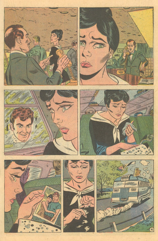 Silent romance story Heart Throbs #63 (December/January 1960)