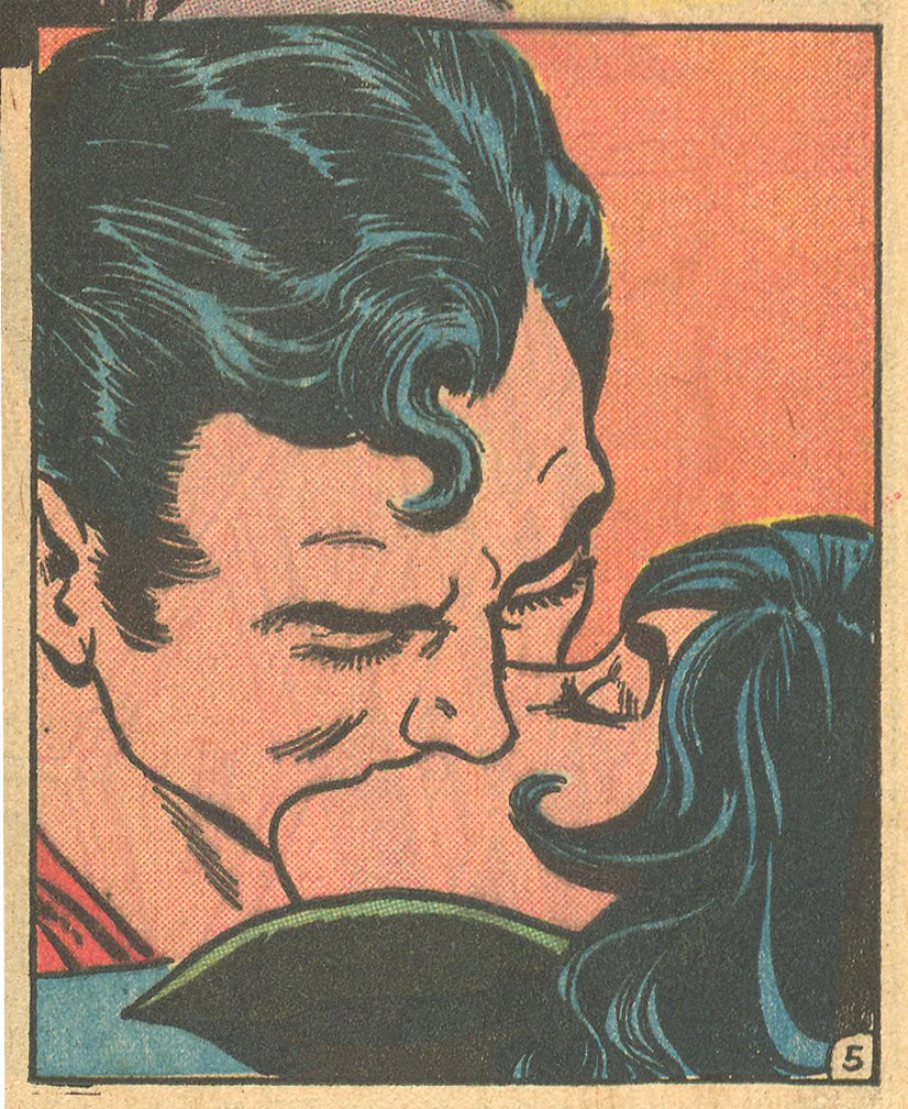 Superman Lois Lane romance comic book