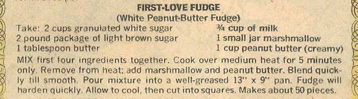 "We decided on ""First-Love Fudge"" from Young Romance #188 (November 1972), which tied for first place."